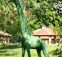 The Leafy Green Girafe by Carole Boudreau
