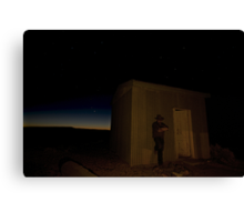 Lonesome on Theldarpa Canvas Print