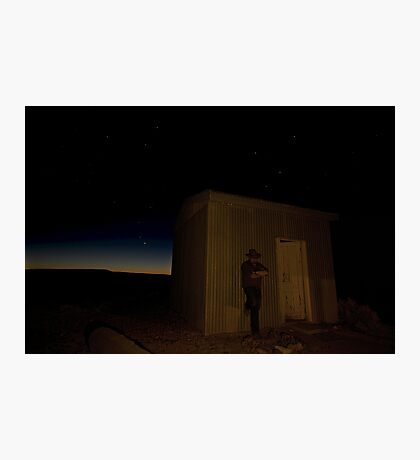 Lonesome on Theldarpa Photographic Print