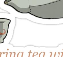 Sharing Tea - Iroh's Wisdom Sticker