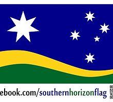 Southern Horizon - The New Australian Flag (With QR Code) by southernhorizon