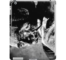 Charles Bukowski - black - quote iPad Case/Skin