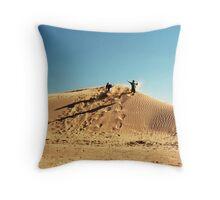 Dune Jump Throw Pillow