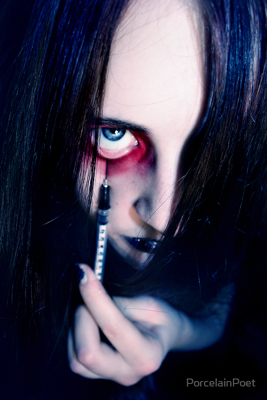 Into the Darkness by PorcelainPoet