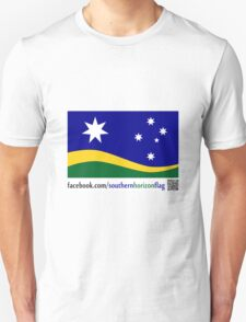 Southern Horizon - The New Australian Flag (With QR Code) T-Shirt