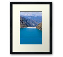 Barrier Framed Print