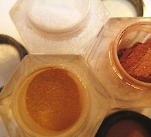 Makeup Series - Glitter Pots by justineb