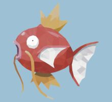 Magikarp Low Poly T-Shirt