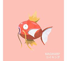 Magikarp Low Poly Photographic Print