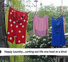 Happy Laundry by CreativeEm