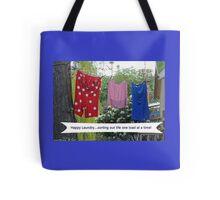 Happy Laundry Tote Bag
