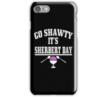 Sherbert Day Funny Geek Nerd iPhone Case/Skin