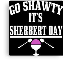 Sherbert Day Funny Geek Nerd Canvas Print