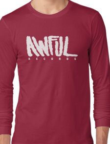 AWFUL Records Long Sleeve T-Shirt