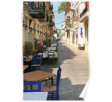 Nafplion early morning Poster