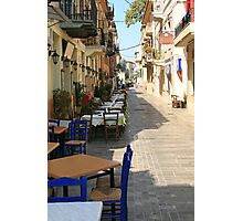 Nafplion early morning Photographic Print