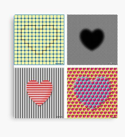 Is Love An Illusion? Canvas Print