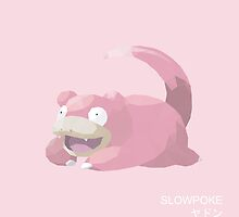 Slowpoke Low Poly by meowzilla