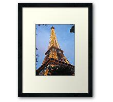 Le Tour Eiffel Framed Print