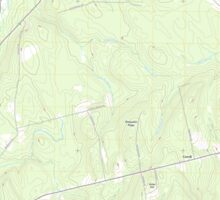 Maine USGS Historical Map Bowers Mountain 20110902 TM Sticker