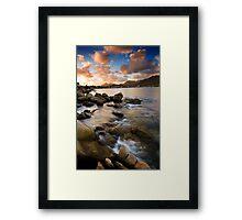 Fish Hoek walkway 1 Framed Print
