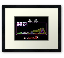 Ghosts n' Goblins Framed Print