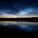 Noctilucent clouds by Juhku