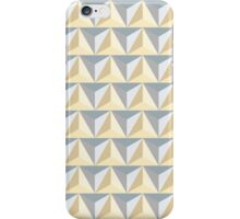 Geometric pattern background iPhone Case/Skin