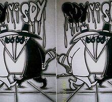 spy vs spy. by airmoe69