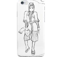 Haku (Uncoloured) iPhone Case/Skin