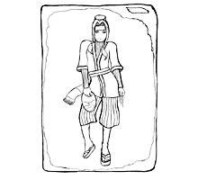 Haku (Uncoloured) Photographic Print