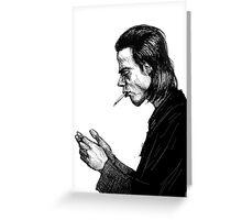 Nick Cave Sketch Greeting Card