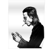 Nick Cave Sketch Poster