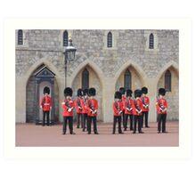 Ceremonial Guards Art Print