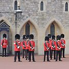 Ceremonial Guards by CreativeEm