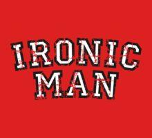 IRONIC MAN Vintage White One Piece - Short Sleeve