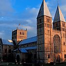 """""""Sunset at the Minster"""" by Bradley Shawn  Rabon"""