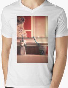 bathroom Mens V-Neck T-Shirt