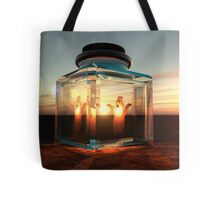 Bottled Ghost Tote Bag