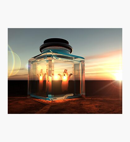 Bottled Ghost Photographic Print