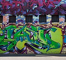 Melbourne Graffiti by Rosina  Lamberti
