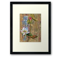 """On the Silver Ray"" from the series ""In the Lotus Land"" Framed Print"