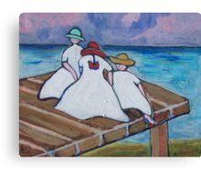 3 Girls Canvas Print