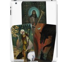 Solas Tarot Card Trilogy iPad Case/Skin