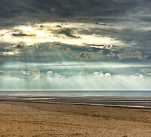 Autumn Rays by John Edwards
