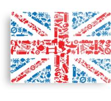 British and Proud Metal Print