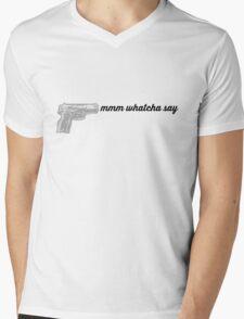 SNL MEME MMM WHATCHA SAY DEAR SISTER Mens V-Neck T-Shirt