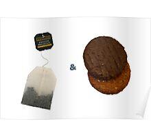 Tea & Biscuits Poster