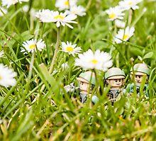 Rebels on patrol by William Rottenburg