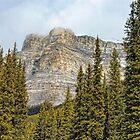 Banff's Castle Mountain by Dyle Warren